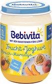 Bebivita - Био плодов дует с йогурт, праскова и маракуя - продукт