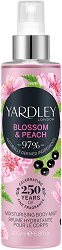 Yardley Blossom & Peach Moisturising Body Mist - Парфюмен спрей за тяло -