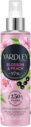 Yardley Blossom & Peach Moisturising Body Mist - Парфюмен спрей за тяло - гел