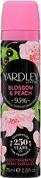 Yardley Blossom & Peach Deodorant - Дамски спрей дезодорант за тяло - дезодорант