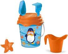 Комплект за игра с пясък - Пингвин -