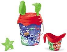 Комплект за игра с пясък - PJ Masks - играчка