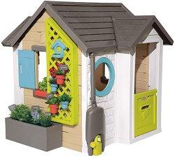 Сглобяема къща с кухня за игра - Garden House -