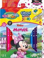 Цветни моливи Jumbo - Мини Маус