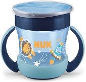 Флуоресцентна преходна чаша с дръжки 360° - Evolution Mini Magic Cup 160 ml - За бебета над 6 месеца -