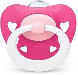 Залъгалка от силикон с ортодонтична форма - Signature - Комплект с кутия за съхранение за бебета от 18 до 36 месеца -