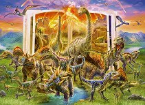 Книгата на динозаврите - пъзел