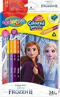Двустранни цветни моливи - Замръзналото кралство