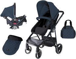 Бебешка количка 2 в 1 - Gianni -
