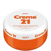 Creme 21 Soft - Крем за лице, ръце и тяло с витамин E - сапун