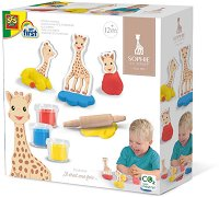 Животни от пластилин - Жирафчето Софи -