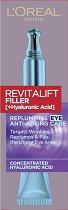 """L'Oreal Revitalift Filler HA Replumping Eye Cream - Околоочен крем против стареене с хиалуронова киселина от серията """"Revitalift Filler HA"""" - крем"""