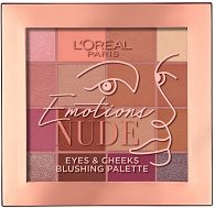 L'Oreal Emotions Nude Eyes & Cheeks Blushing Palette -