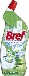 Почистващ препарат за тоалетна - Bref ProNature Gel - Разфасовка от 0.700 l -