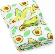 Бебешка бамбукова пелена - Avocado -