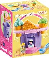Комплект за игра с пясък - Щанд за сладолед -
