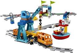 """Товарен влак - Детски конструктор от серията """"LEGO Duplo"""" - продукт"""