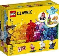 LEGO: Classic - Creative Transparent Bricks - играчка