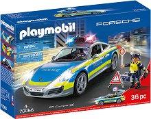 Полицейска кола - Porsche Carrera 45 - Детски конструктор -