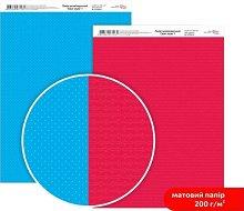 Двустранен картон за скрапбукинг - Стрелки и точки