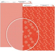 Двустранен картон за скрапбукинг - Нежни Цветя