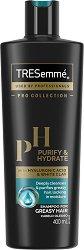 Tresemme Purify & Hydrate Shampoo - фон дьо тен