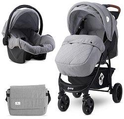 Бебешка количка 2 в 1 - Daisy Set 2021 -