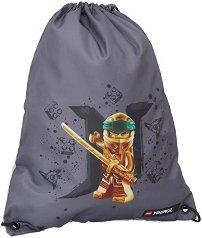 Спортна торба - LEGO: Ninjago Gold -