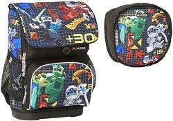 Ученическа раница - LEGO: Ninjago Prime Empire Optimo - Комплект със спортна чанта - раница
