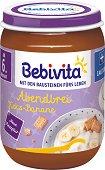 Bebivita - Био млечна каша с бисквити и банани - пюре