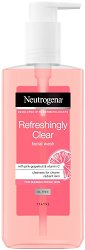 Neutrogena Refreshingly Clear Facial Wash - Почистващ гел за лице за склонна към несъвършенства кожа - продукт