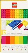Флумастери - LEGO - Комплект от 12 броя