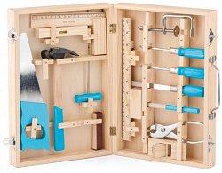 Куфарче с дървени инструменти - творчески комплект