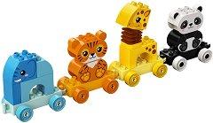 LEGO: Duplo - Моят първи влак с животни - играчка