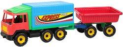 Камион с ремарке -