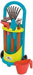 Градинска количка с аксесоари - Детски комплект за игра -
