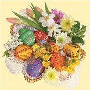 Салфетки за декупаж - Великденска украса