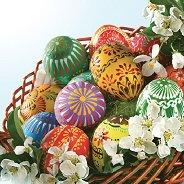 Салфетки за декупаж - Великденски яйца - Пакет от 20 броя