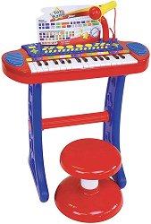 Електронен синтезатор с 31 клавиша и стойка -