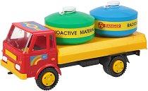 Камион с цистерни - играчка