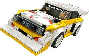 LEGO: Speed Champions - 1985 Audi Sport quattro S1 - играчка
