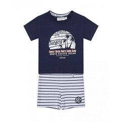 Бебешки комплект - Тениска и къс панталон -
