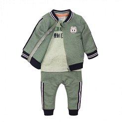 Бебешки комплект - Суитшърт, тениска и панталон -
