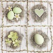 Салфетки за декупаж - Великденска любов - Пакет от 20 броя