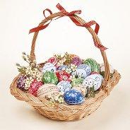 Салфетки за декупаж - Великденска кошница