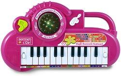 Електронен синтезатор 22 клавиша и светеща топка - I Girl -