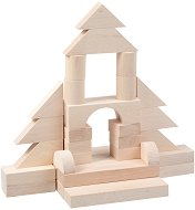 Детски дървен конструктор -