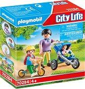 """Майка и деца - Фигурки с аксесоари от серията """"Playmobil: City Life"""" - играчка"""