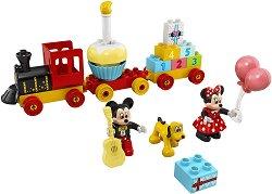 LEGO: Duplo - Влак за рождения ден на Мини и Мики Маус - играчка