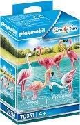 Ято фламинго - фигури